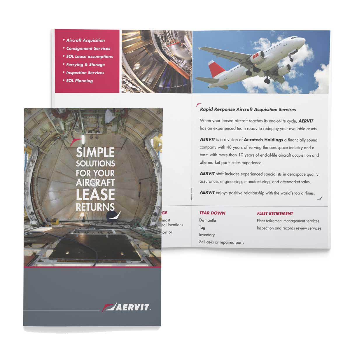 AERVIT marketing materials