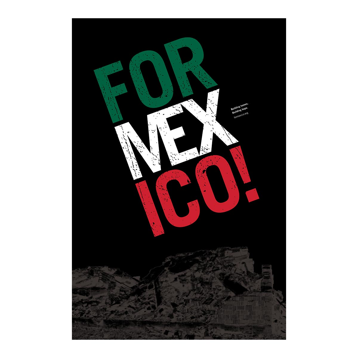 For Mexico! poster