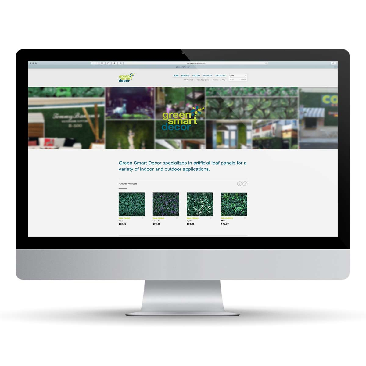 Greensmart website