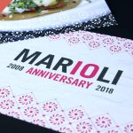 Marioli 10th Anniversary invitation