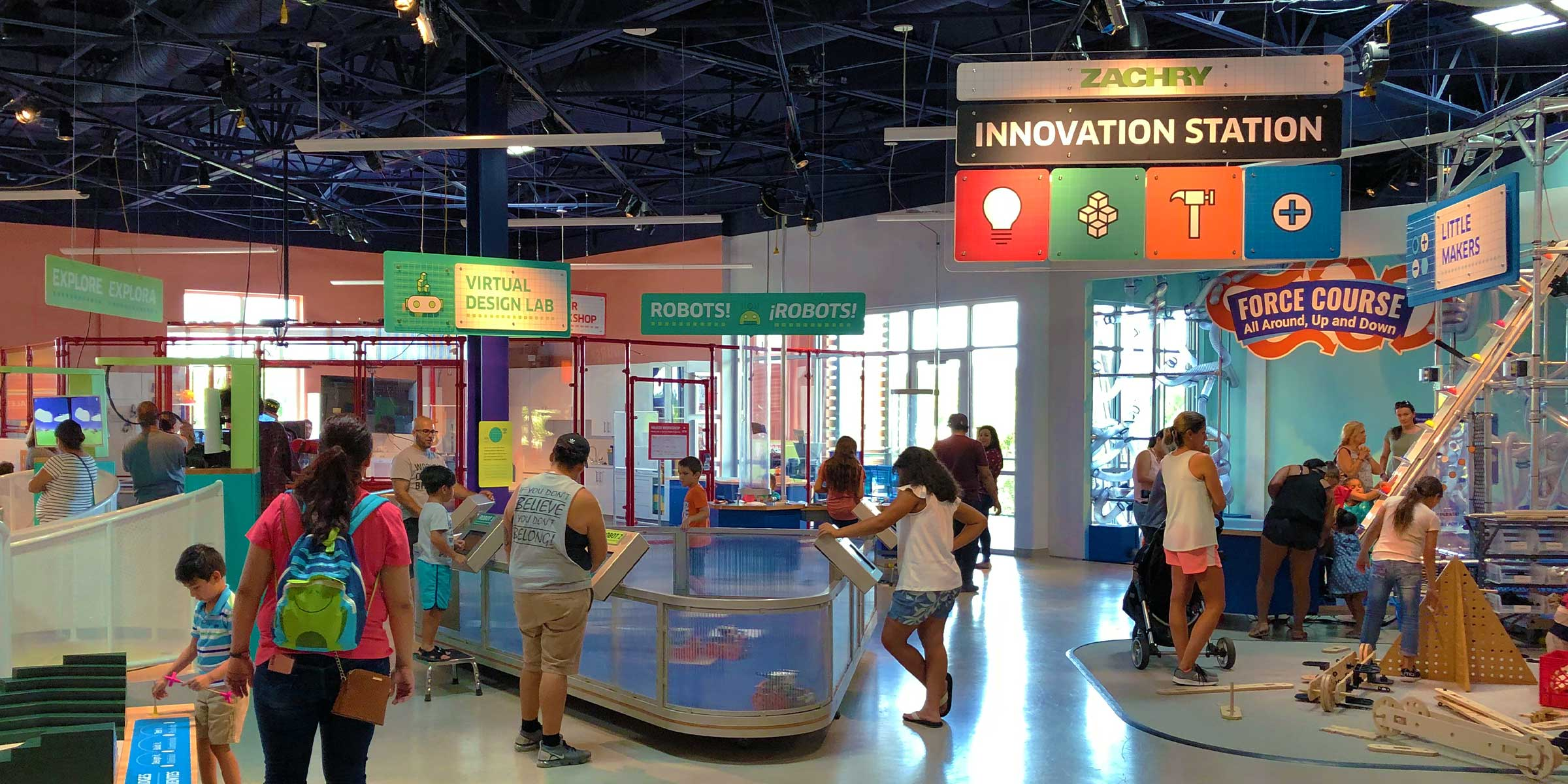 Innovation Station exhibit