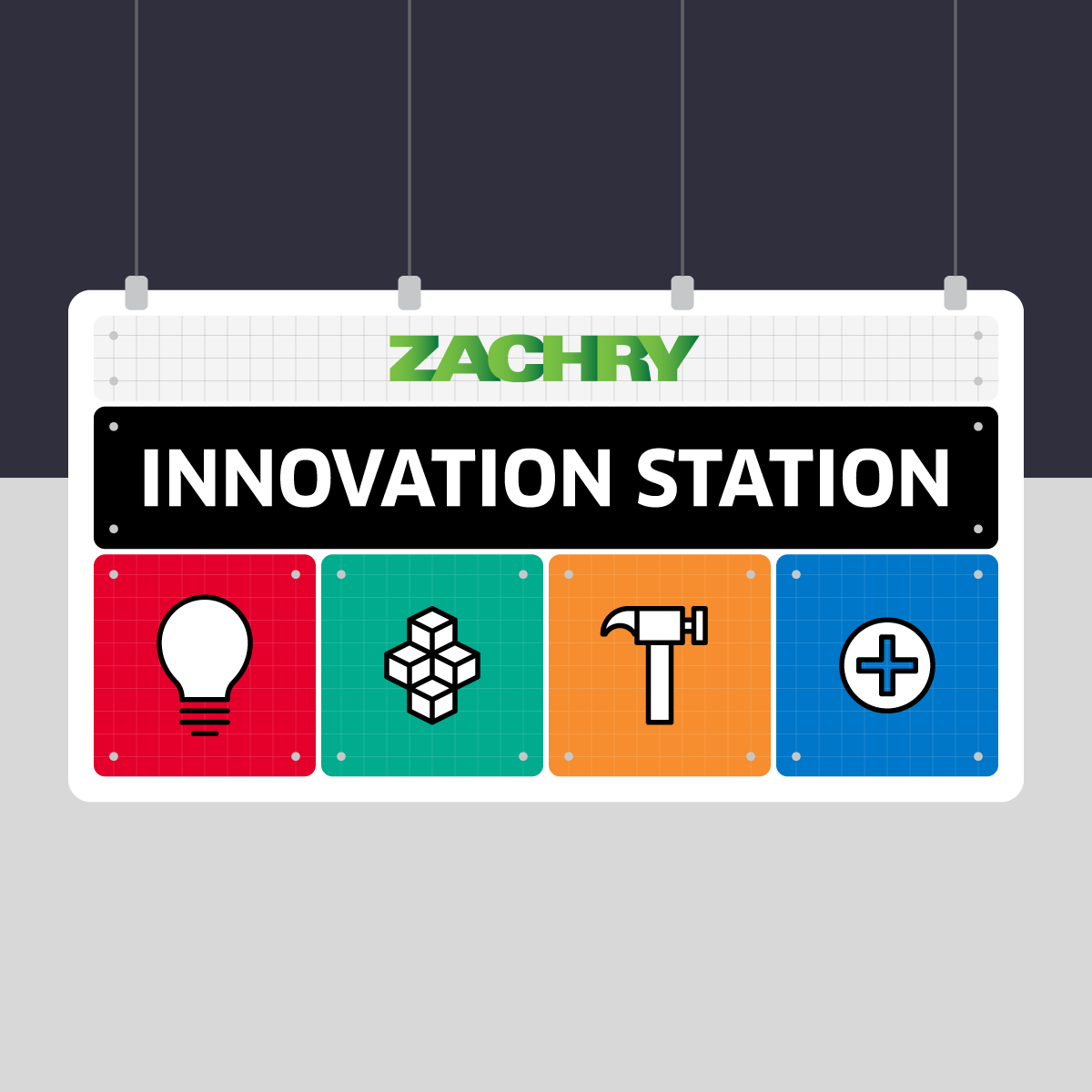 Innovation Station gallery sign