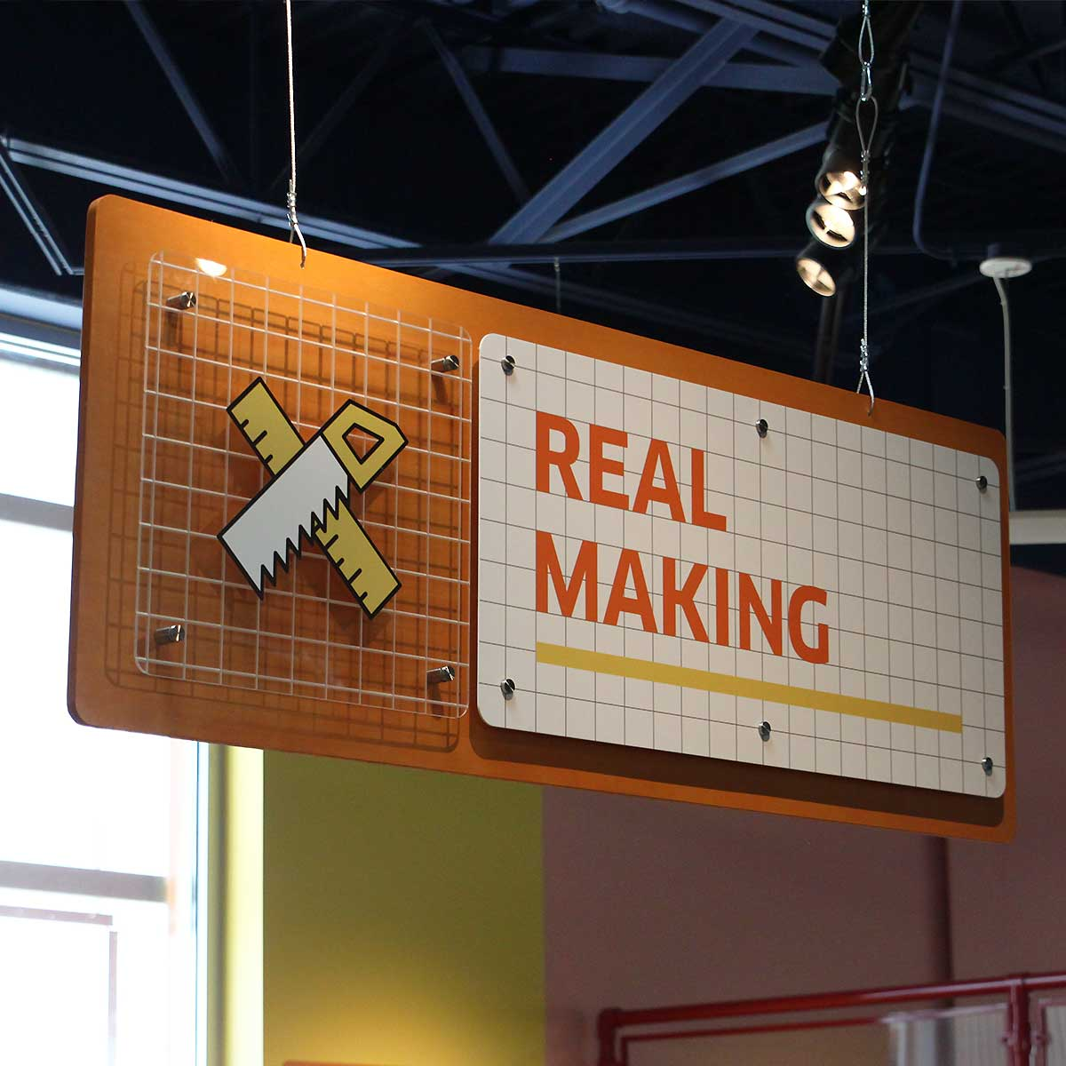 Real Making sign